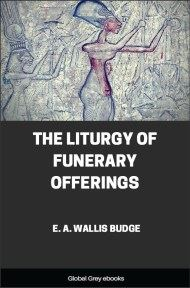 The Liturgy of Funerary Offerings