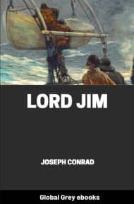 cover page for the Global Grey edition of Lord Jim by Joseph Conrad
