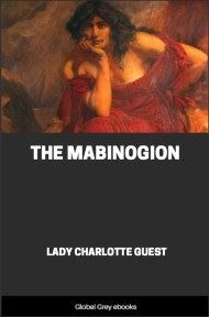 cover page for the Global Grey edition of The Mabinogion by Lady Charlotte Guest