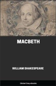 cover page for the Global Grey edition of Macbeth by William Shakespeare