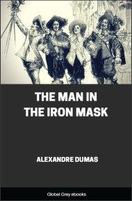 cover page for the Global Grey edition of The Man in the Iron Mask by Alexandre Dumas