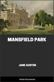 cover page for the Global Grey edition of Mansfield Park by Jane Austen