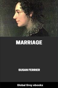 cover page for the Global Grey edition of Marriage by Susan Ferrier