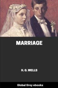 Cover for the Global Grey edition of Marriage by H. G. Wells