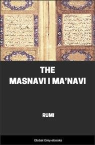 cover page for the Global Grey edition of The Masnavi I Ma'navi by Rumi