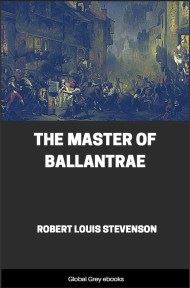 cover page for the Global Grey edition of The Master of Ballantrae By Robert Louis Stevenson