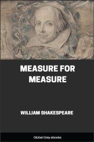 cover page for the Global Grey edition of Measure For Measure by William Shakespeare