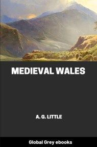 cover page for the Global Grey edition of Medieval Wales by A. G. Little
