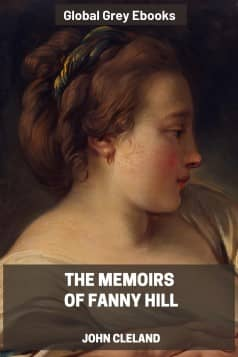 cover page for the Global Grey edition of The Memoirs of Fanny Hill by John Cleland