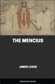 cover page for the Global Grey edition of The Mencius by James Legge