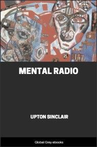 cover page for the Global Grey edition of Mental Radio by Upton Sinclair