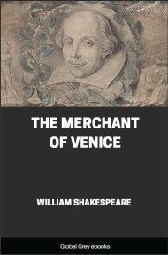 cover page for the Global Grey edition of The Merchant of Venice by William Shakespeare