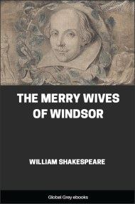 cover page for the Global Grey edition of The Merry Wives of Windsor by William Shakespeare