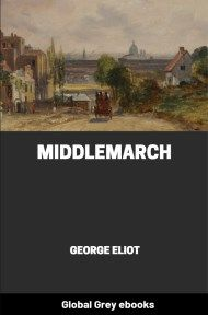 cover page for the Global Grey edition of Middlemarch By George Eliot