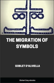 cover page for the Global Grey edition of The Migration of Symbols by Goblet d'Alviella