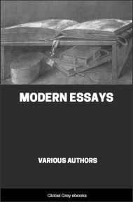 cover page for the Global Grey edition of Modern Essays by Various