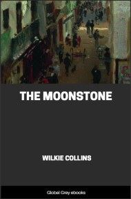 cover page for the Global Grey edition of The Moonstone By Wilkie Collins