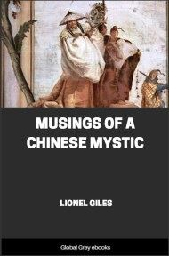 cover page for the Global Grey edition of Musings of a Chinese Mystic by Lionel Giles