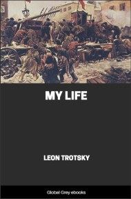 cover page for the Global Grey edition of My Life by Leon Trotsky