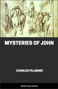 cover page for the Global Grey edition of Mysteries of John by Charles Fillmore