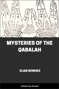 cover page for the Global Grey edition of Mysteries of the Qabalah by Elias Gewurz