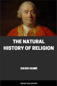 cover page for the Global Grey edition of The Natural History of Religion by David Hume