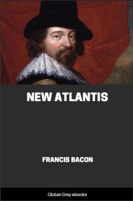 cover page for the Global Grey edition of New Atlantis by Francis Bacon