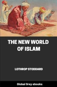 cover page for the Global Grey edition of The New World of Islam by Lothrop Stoddard