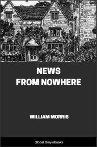 cover page for the Global Grey edition of News from Nowhere by William Morris