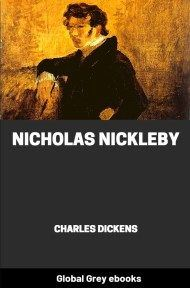 cover page for the Global Grey edition of Nicholas Nickleby by Charles Dickens