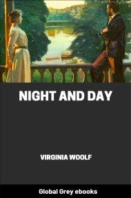 cover page for the Global Grey edition of Night and Day by Virginia Woolf
