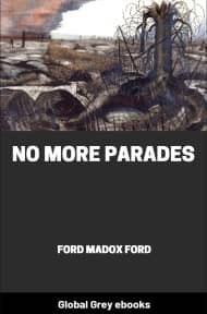cover page for the Global Grey edition of No More Parades by Ford Madox Ford