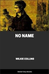 cover page for the Global Grey edition of No Name by Wilkie Collins