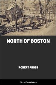 cover page for the Global Grey edition of North of Boston by Robert Frost