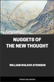 cover page for the Global Grey edition of Nuggets of the New Thought by William Walker Atkinson