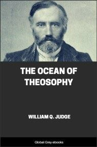 cover page for the Global Grey edition of The Ocean of Theosophy by William Q. Judge