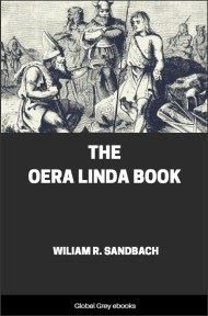 cover page for the Global Grey edition of The Oera Linda Book by Wiliam R. Sandbach