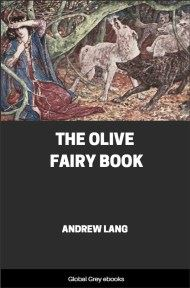 cover page for the Global Grey edition of The Olive Fairy Book by Andrew Lang