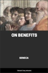cover page for the Global Grey edition of On Benefits by Seneca