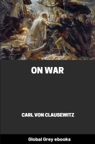 cover page for the Global Grey edition of On War by Carl von Clausewitz