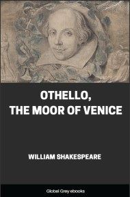 cover page for the Global Grey edition of Othello, The Moor of Venice by William Shakespeare