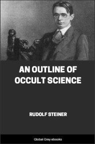 cover page for the Global Grey edition of An Outline of Occult Science by Rudolf Steiner
