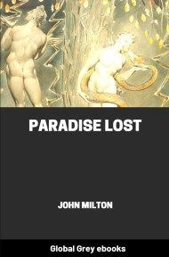 cover page for the Global Grey edition of Paradise Lost by John Milton