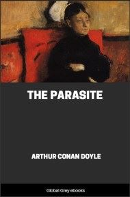 cover page for the Global Grey edition of The Parasite by Arthur Conan Doyle