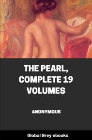 cover page for the Global Grey edition of The Pearl, Complete 19 Volumes by Anonymous