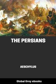 cover page for the Global Grey edition of The Persians by Aeschylus