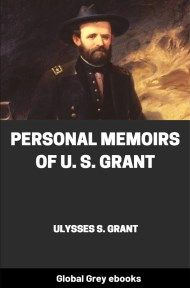 cover page for the Global Grey edition of Personal Memoirs of U. S. Grant, Complete by Ulysses S. Grant