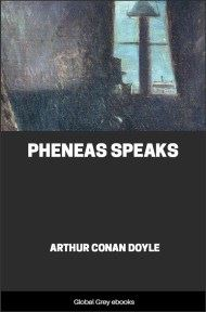 cover page for the Global Grey edition of Pheneas Speaks by Arthur Conan Doyle