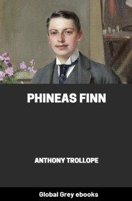 cover page for the Global Grey edition of Phineas Finn By Anthony Trollope