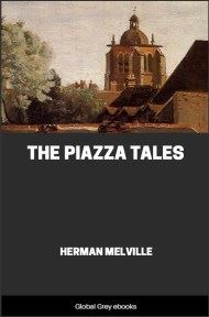 cover page for the Global Grey edition of The Piazza Tales by Herman Melville